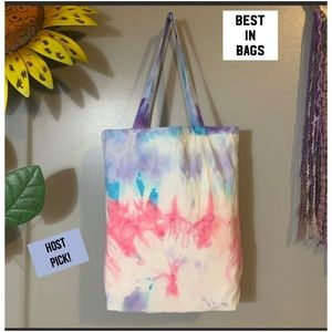 HANDMADE Tie Dye Tote Bag Handbag